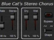 Free Audio Plugin - Blue Cat´s Stereo Chorus