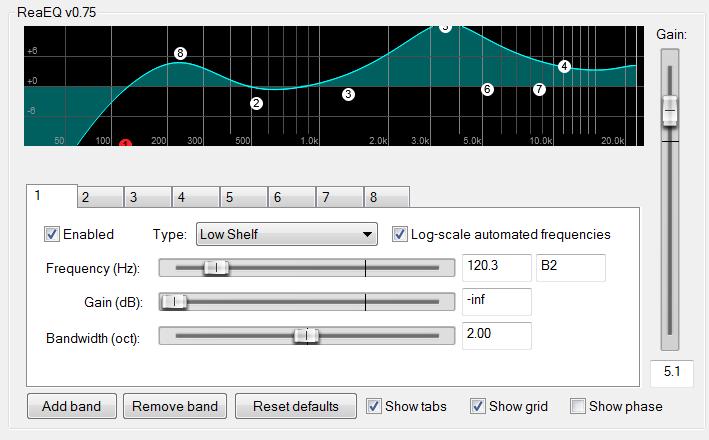 Reaeq Equalizer Audio Plugins For Free