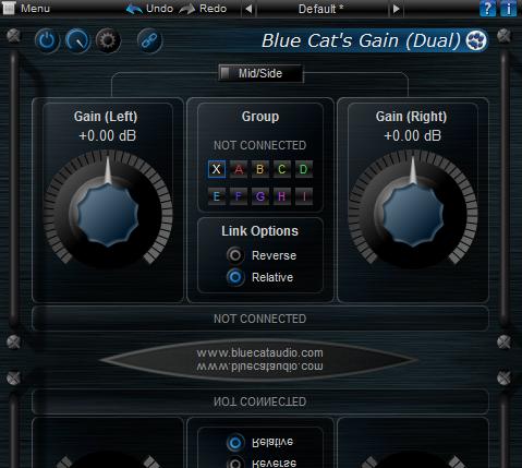 Blue Cat's Gain Suite | Audio Plugins for Free