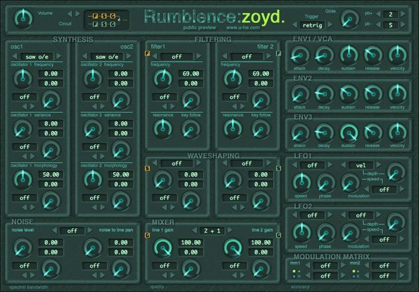 Zoyd | Audio Plugins for Free