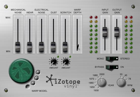 iZotope Vinyl | Audio Plugins for Free