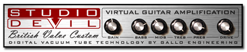 Studio Devil British Valve Custom | Audio Plugins for Free