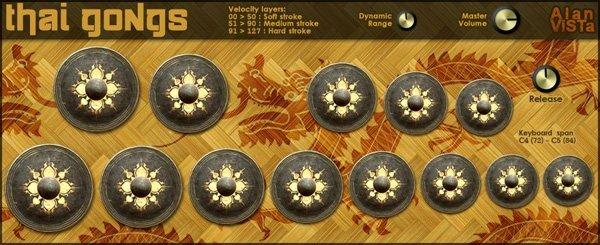 Thai Gongs | Audio Plugins for Free