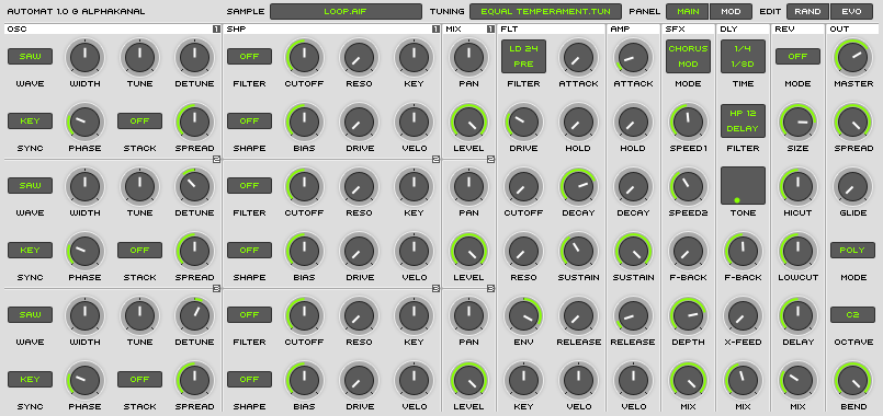 Automat | Audio Plugins for Free