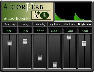 Algorverb | Audio Plugins for Free