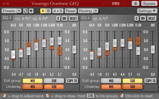 Voxengo Overtone Geq Equalizer Audio Plugins For Free