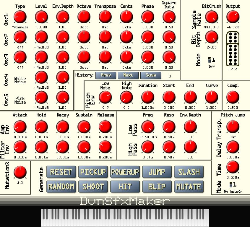 DvnSfxMaker | Audio Plugins for Free