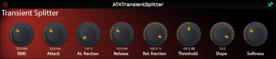 ATKTransientSplitter | Audio Plugins for Free