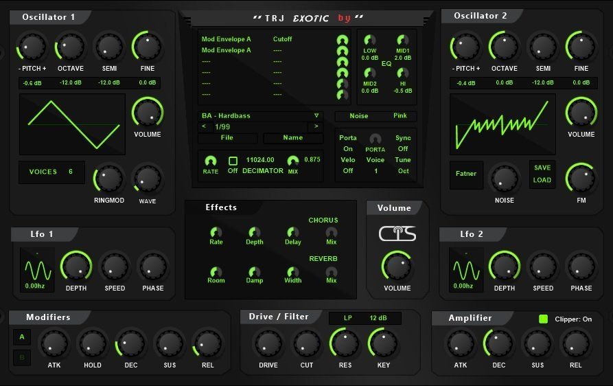 Exotic | Audio Plugins for Free
