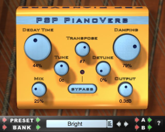 Psp Pianoverb Reverb Audio Plugins For Free