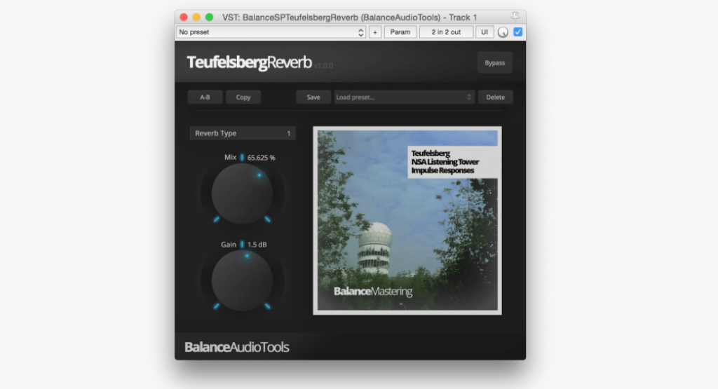 Teufelsberg Reverb | Audio Plugins for Free