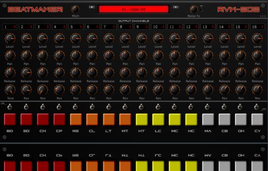 RVK-808 | Audio Plugins for Free