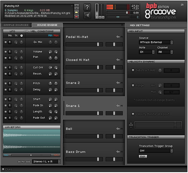 Grooove BPB | Audio Plugins for Free