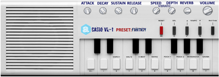 Casio VL-1 | Audio Plugins for Free