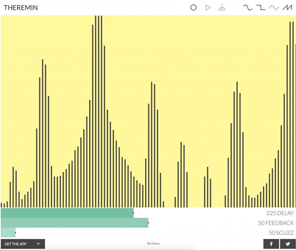 Femurdesign theremin | Audio Plugins for Free