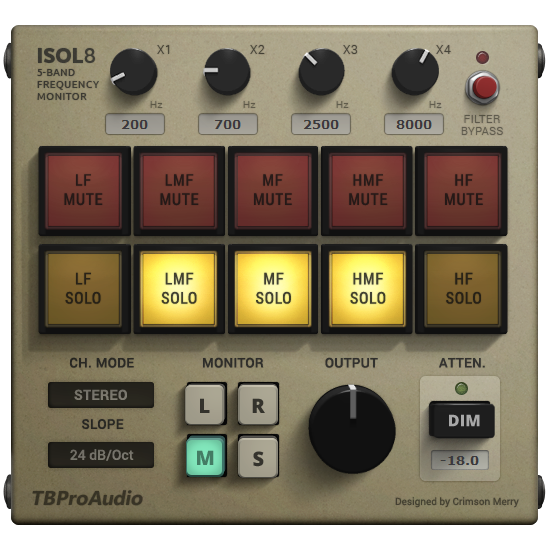 Isol8 | Audio Plugins for Free