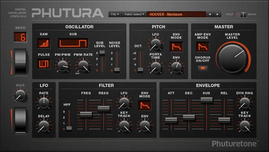 Phutura VSTI | Audio Plugins for Free