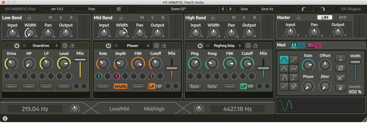 Hy Mbmfx2 Multi Fx Multiband Fx Audio Plugins For Free